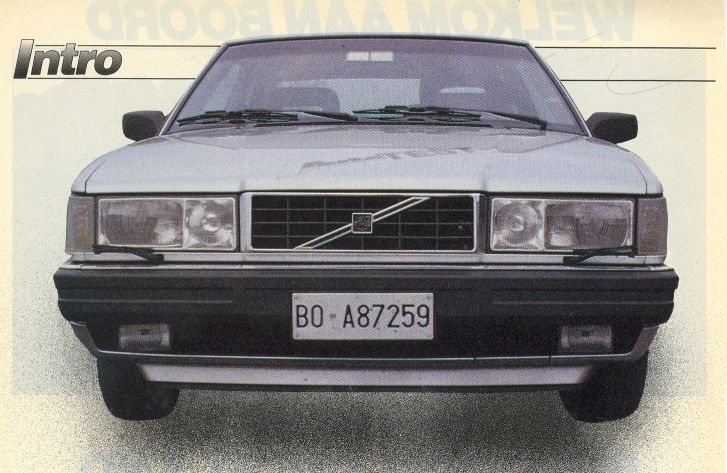 Welcome to the Dutch Volvo Coupé Bertone Homepage!